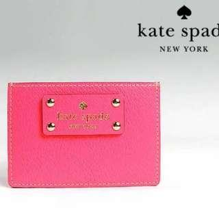 new Kate Spade leather cardholder