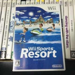 Nintendo Wii Sports Resort Japan Video Game