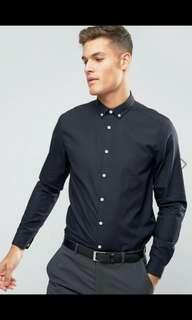 ASOS Smart Long Sleeves Black XXS