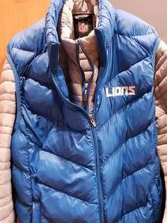 Official NFL Detroit Lions 3-in-1 Systems Winter Jacket