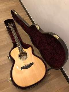 Taylor 714ce Fall Limited Black Sassafras back and sides