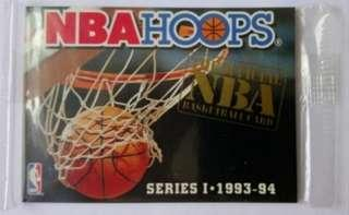 (未拆,包本地平郵)NBA HOOPS 93-94 series I 無 No. REDEMPTION SET籃球卡