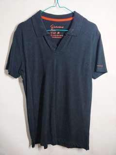 Polo shirt hitam giordano