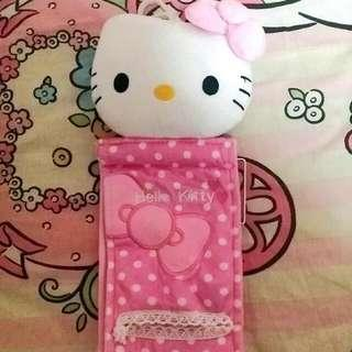 🚚 Hello Kitty Toilet Roll Holder NEW