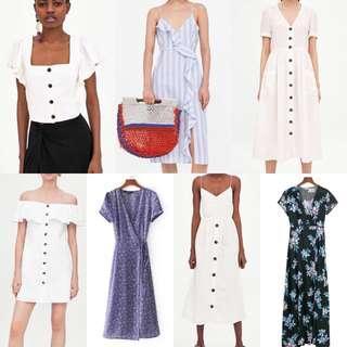 SIMILAR Zara Inspired/Authentic Summer Dresses