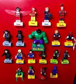 Lego toys ( by order )