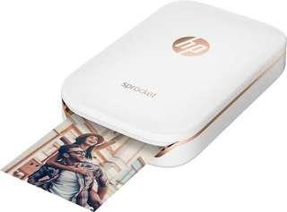 HP Sprocket Portable Photo Printer, Print Social Media Photos on 2x3 Sticky Back Paper