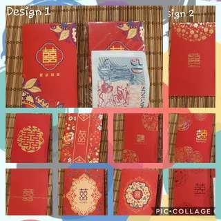 (Instock! 10% discount!) Wedding 囍 Red Packets (M)