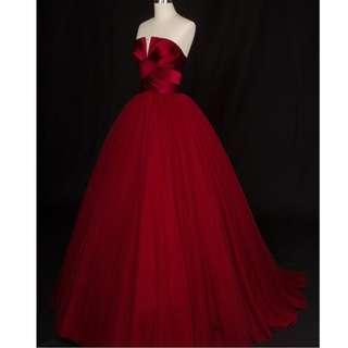Ladies - Vera Elegant Tube Gown L1855