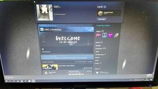 Steam Account lvl50
