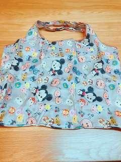 迪士尼 環保袋 購物袋 大款 Tum Tum 可肩背 手提