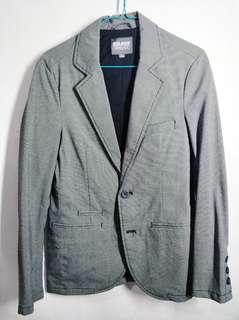 Jas / blazer abu abu motif cowok / pria BALENO size S