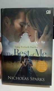 Novel Terjemahan Best of Me by Nicholas Sparks