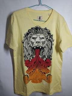 Kaos cowok / pria graffiti Monkey See size S
