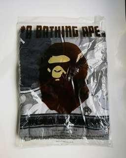 a bathing ape 大毛巾