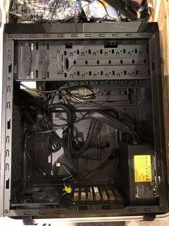Cooler Master n400 computer case with power supply