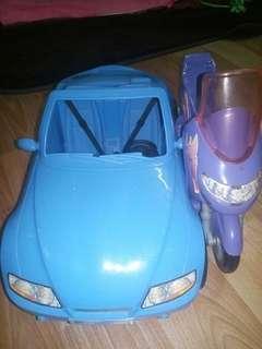 Barbie Sport Car.
