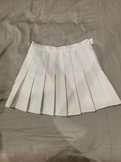 White shirt skirt