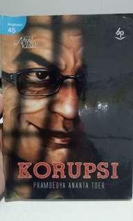 Novel Politik Korupsi Pramoedya Ananta Toer