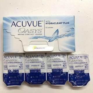 Acuvue Oasys Contact Lenses -6.5