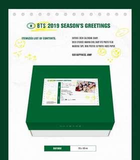 BTS 2019 Season Greetings
