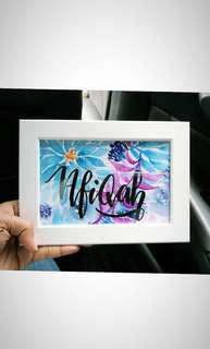 Name plates, gift and greeting cards