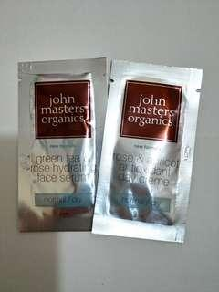 John Masters Organics Serum+cream set