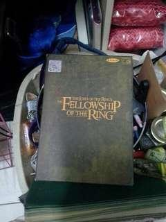 The lord of the rings the fellowship of the ring vcd