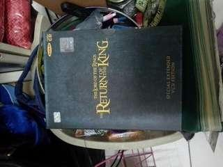The lord of the rings the return of the king vcd special extended edition