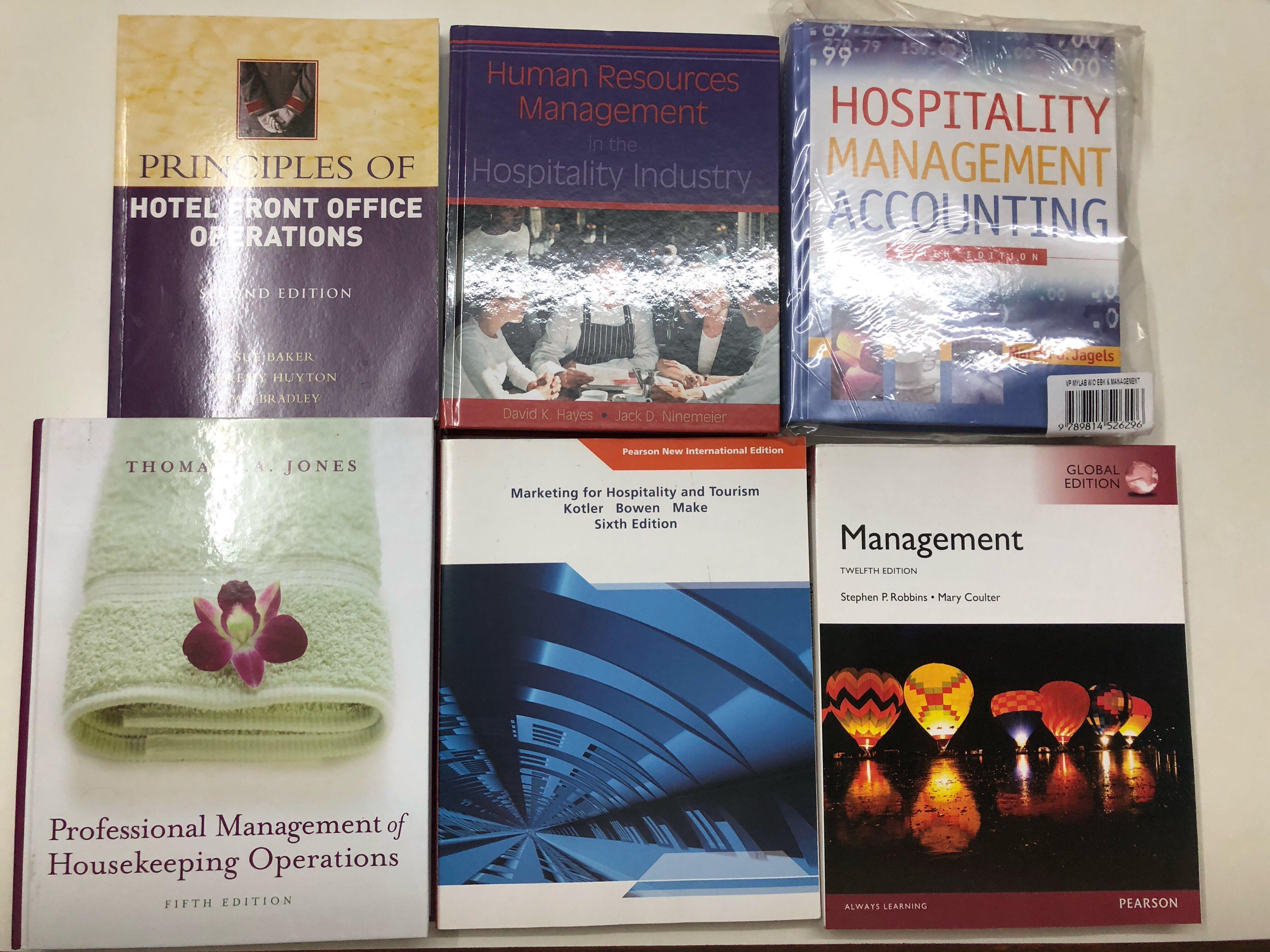 每本65蚊 Professional Management Of Housekeeping Operations