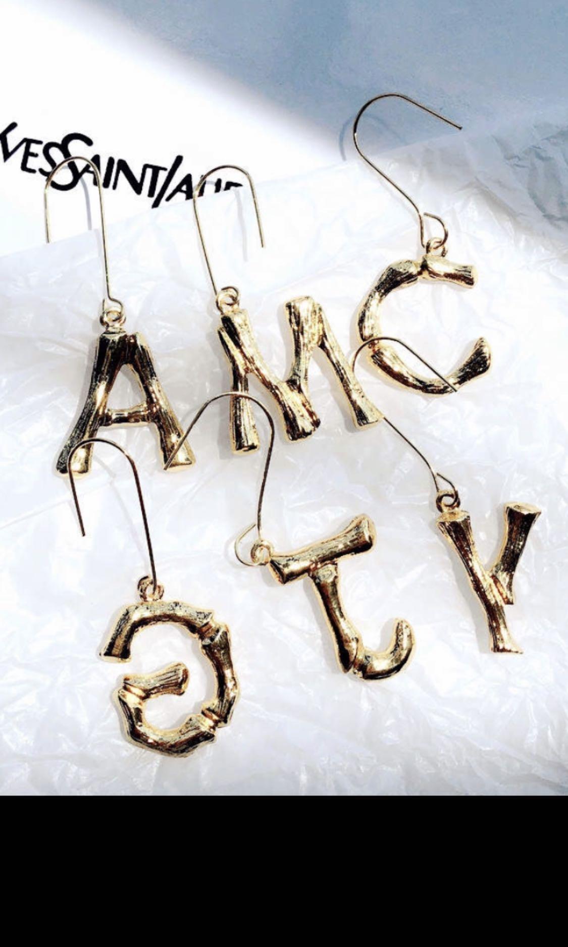 韓國訂製 耳環A-Z