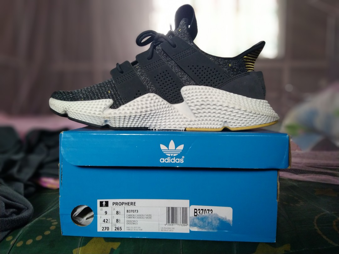 973150881f93 Adidas Prophere Carbon Pyrite Grey Size 9US