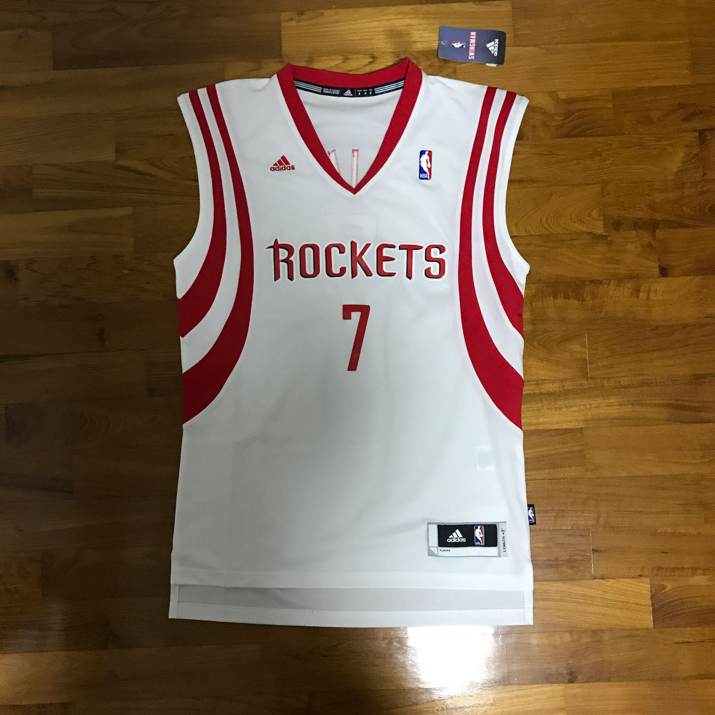 hot sale online f8cb5 a943e Adidas Swingman NBA Houston Rockets Jeremy Lin Jersey ...
