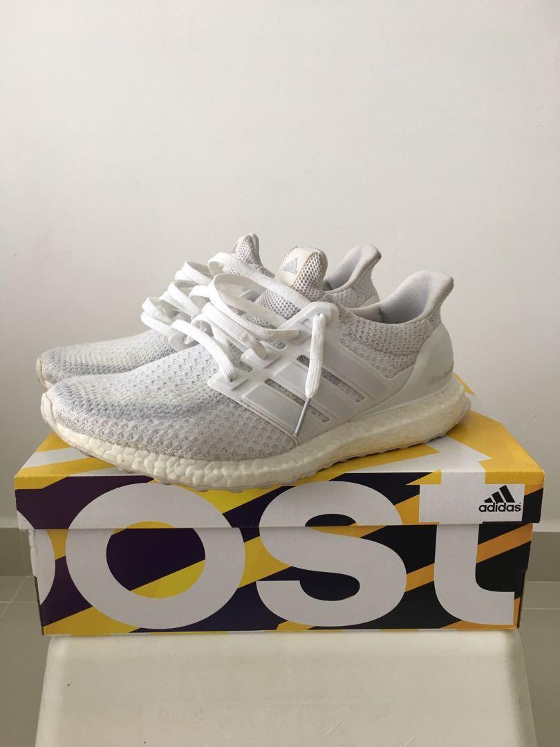 2d5ca514d6f2 Adidas Ultra Boost Triple White 2.0