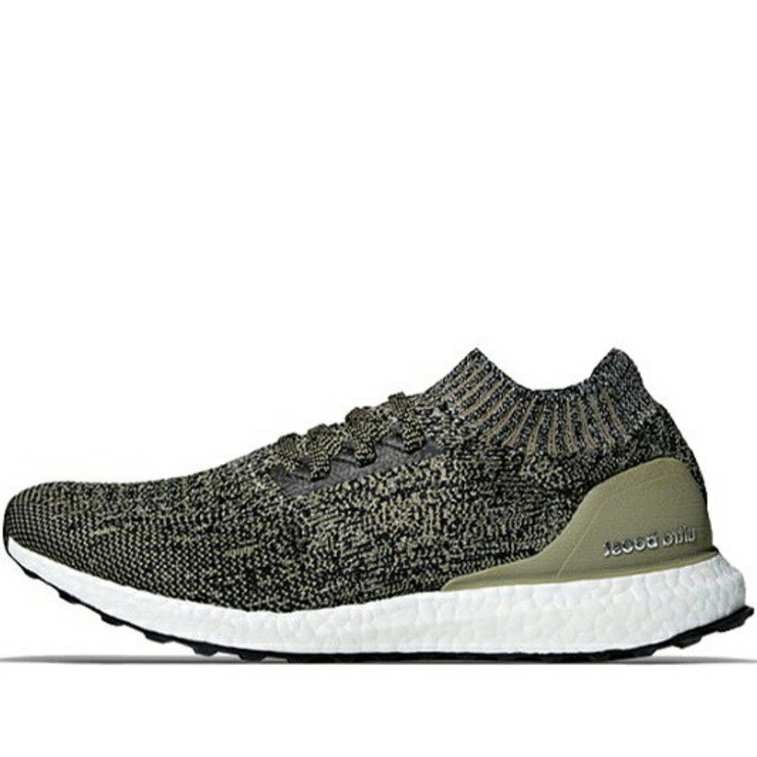 66a892a060b Adidas Ultraboost Uncaged Trace Cargo Grey Olive Green