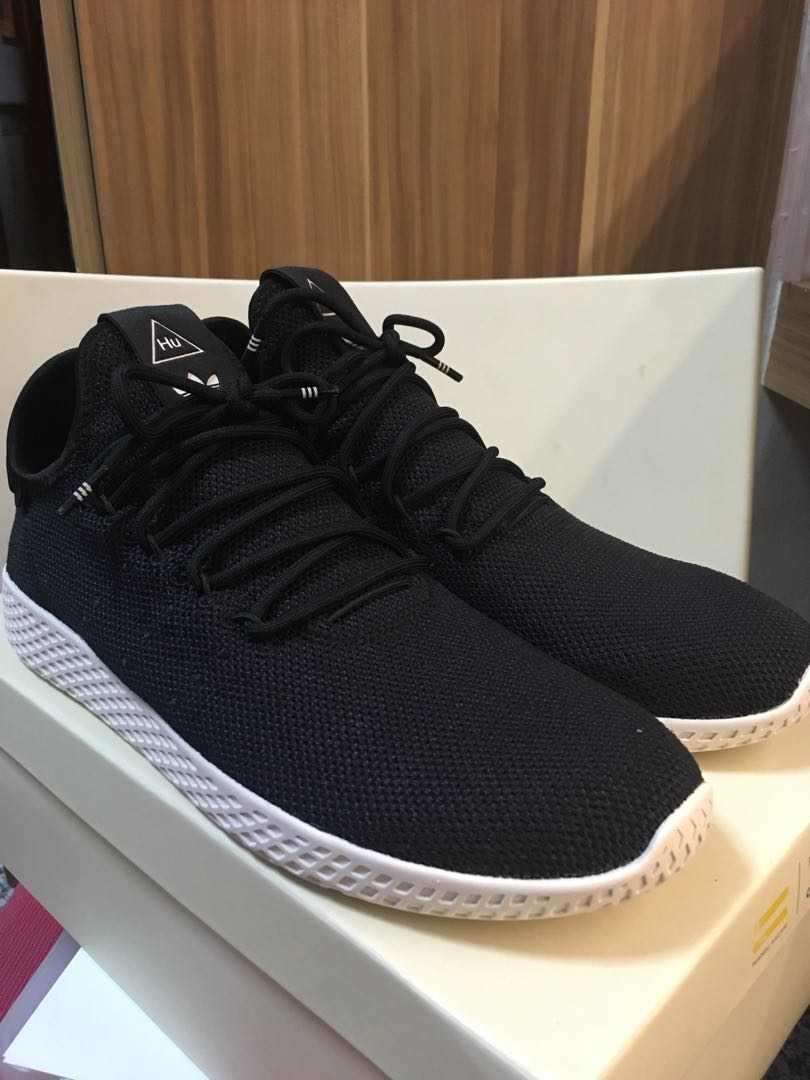 85db817a9 Adidas X Pharrell Williams Tennis Hu Black