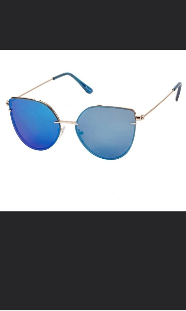 5a8dc73d983 1212 Blue Cat eye Sunglasses