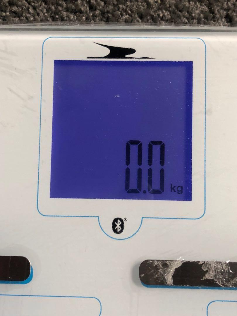 Bluetooth smart digital body fat scale