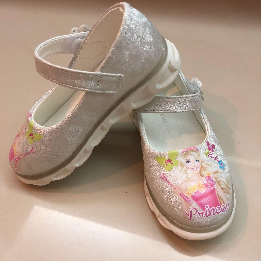 BN baby girl barbie shoes, Babies