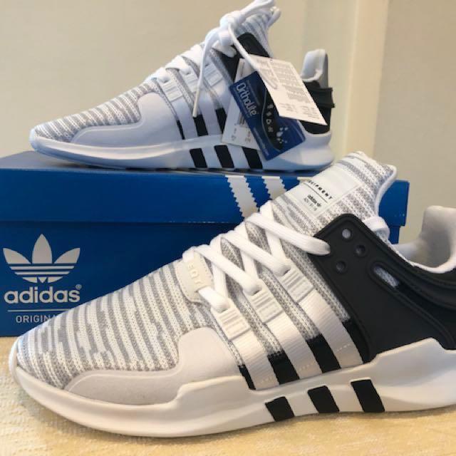 half off 56e0c 3dbe9 BNIB Adidas EQT Support ADV White Black BB1296 (US 9.5 UK 9 ...