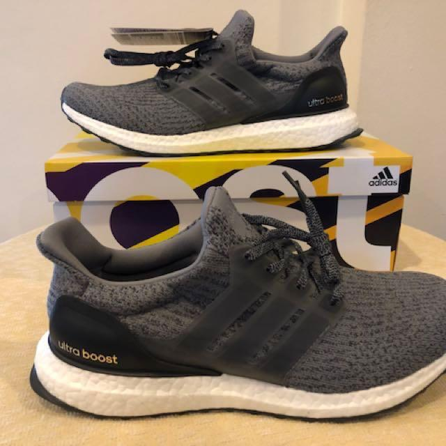 the best attitude 40a72 cd5c0 BNIB Adidas Ultra Boost 3.0 Mystery Grey BA8849 (US 9.5 UK 9 ...