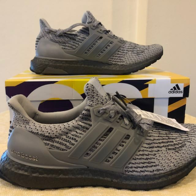 c171e1748b125 BNIB Adidas Ultra Boost 3.0 Triple Grey LTD CG3041 (US 9.5 UK 9 EU ...