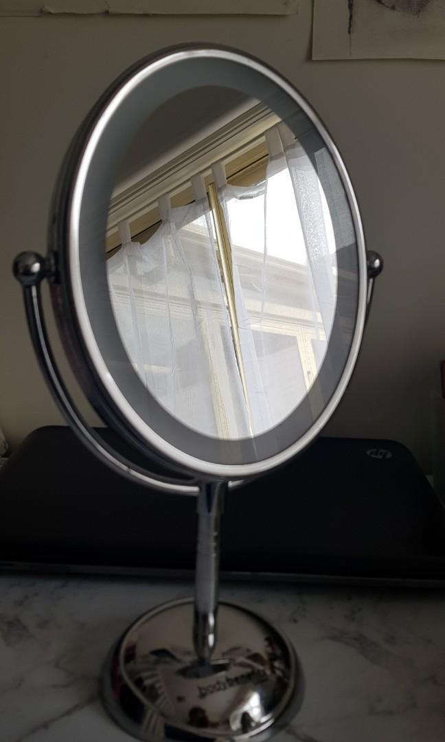 Body benefits by Conair makeup vanity light mirror silver zoom grooming
