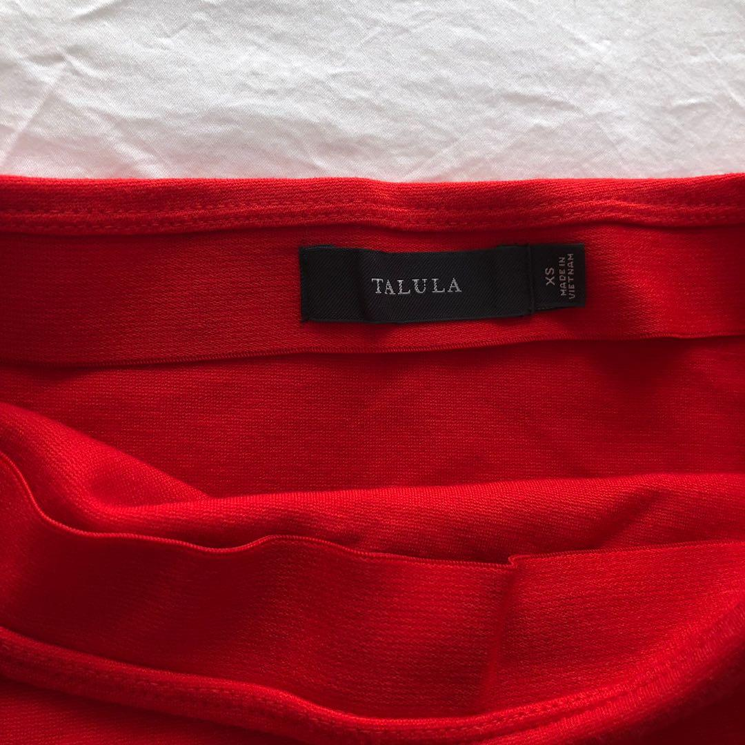 Brand new Aritzia red Skirt XS