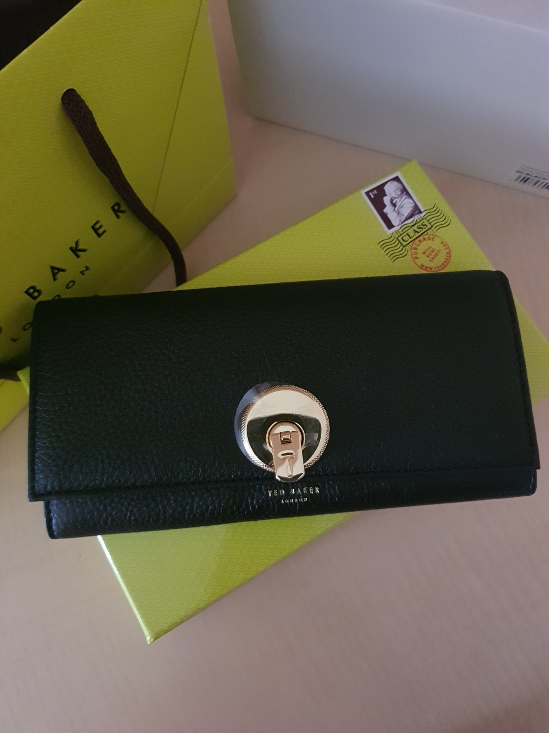 a3640b7c15a6a9 BRAND NEW TED BAKER WALLET (BLACK)