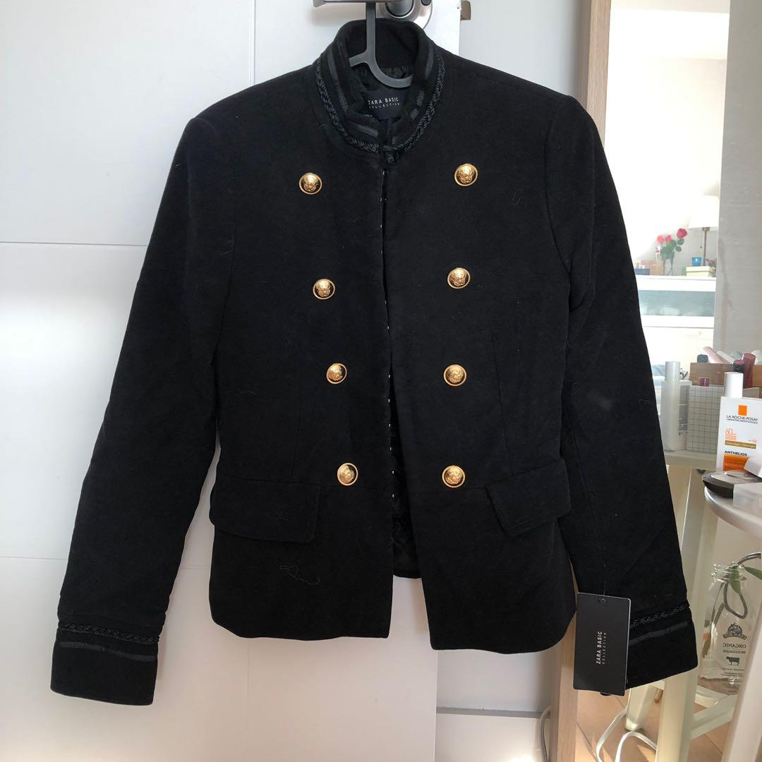 Brand new with tag Zara military jacket S