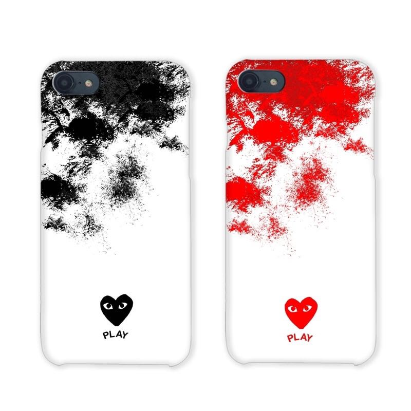 quality design 83323 a3929 CDG Hearts Couple Gradient Phone/Mobile Case/Cover