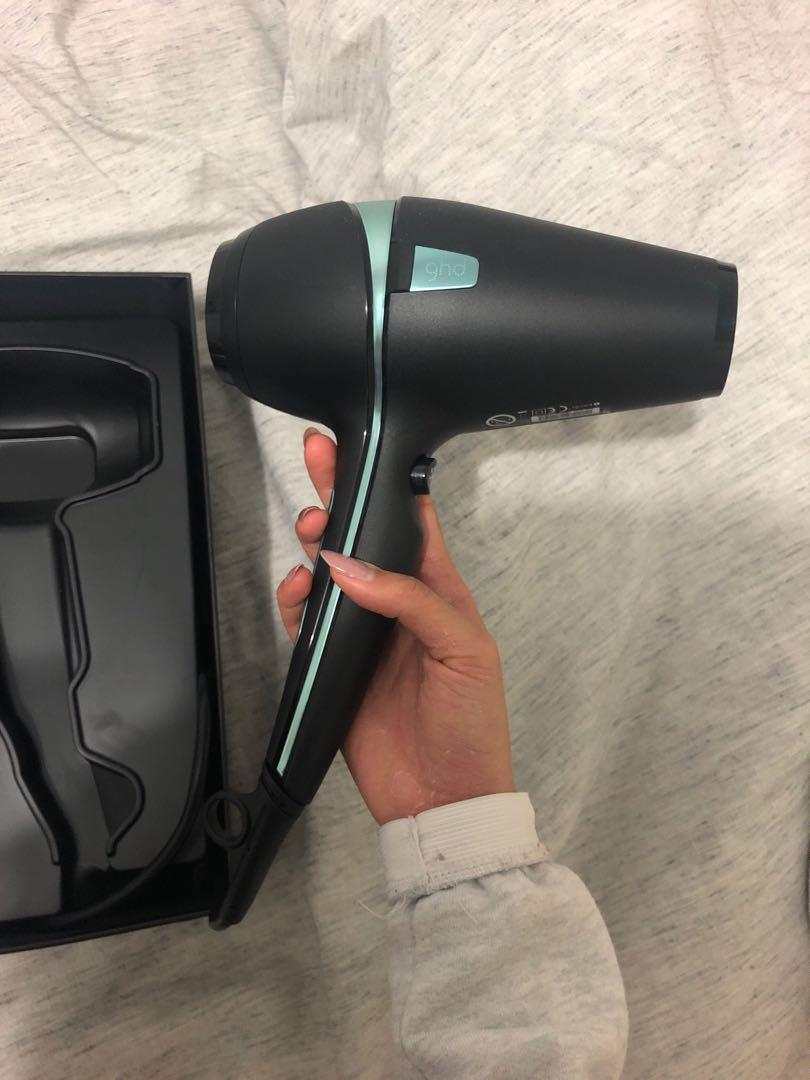 GHD air professional hairdryer glacial blue collection
