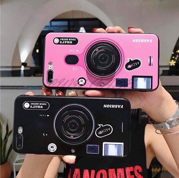 pretty nice 894fd 37391 Glossy Camera Case w/ Popsocket on Carousell