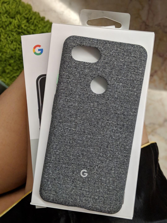 best website 03c16 61182 Google pixel 3 xl fabric case fog